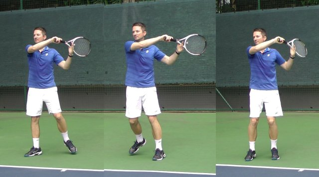 Forehand Follow Through Catching Technique And Why Use It Feel Tennis
