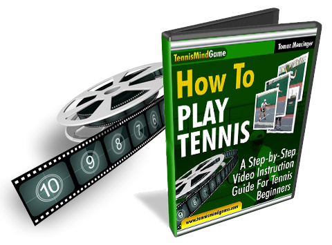 tennis beginner course, Improve Tennis Serve